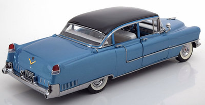 Greenlight 1:18 Cadillac Serie 60 Fleetwood Elvis Presley 1955 blauw