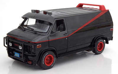 Greenlight 1:18 GMC Vandura Van A-Team 1983