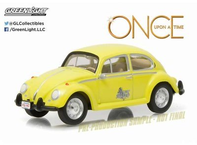 Greenlight 1:64 Emmas classic Volkswagen Beetle Once Upon A Time (2011-Current TV Series)