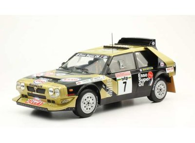 Triple 9 Collection 1:18 Lancia Delta S4 no7 San Remo Rally Tabaton 1986