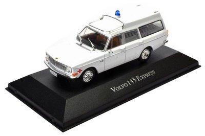 Atlas 1:43 Volvo 145 Express Ambulance 1969 wit