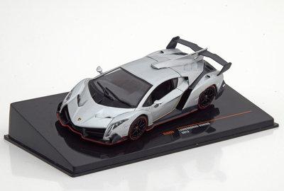 IXO 1:43 Lamborghini Veneno zilver 2013