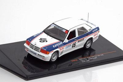 IXO 1:43 Mercedes 190E 2.3 16V No 46 Z Vojtech / Micangeli ETCC 1986
