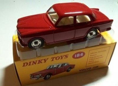 Dinky Toys 1:43 Volvo 122S rood, Edition Atlas