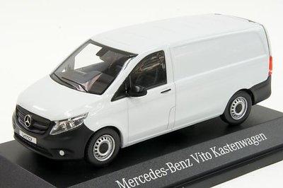 Norev 1:43 Mercedes Benz Vito bestel 2014 wit (dealer verpakking)