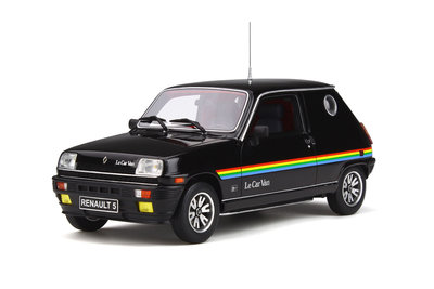 Otto Mobile 1:18 Renault 5 Le Car Van zwart, Lim. 1500 pcs