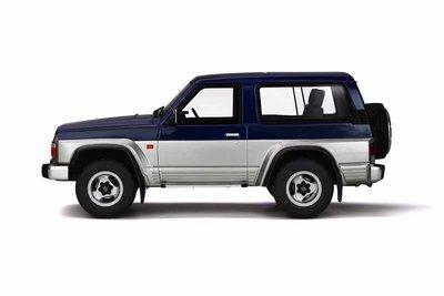 Otto Mobile 1:18 Nissan Patrol GR Blue & Silver, Lim. 1500 pcs