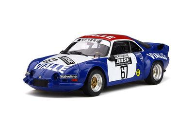 Otto Mobile 1:18 Alpine A110 Gr.5 Rallye Cross #67 Team Vialle, Lim. 999 pcs