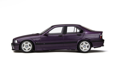 Otto Mobile 1:18 BMW E36 M3 4 Doors Daytona Violet, Lim. 2000 pcs