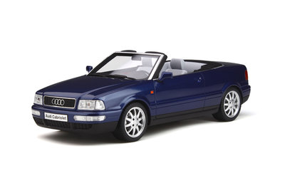 Otto Mobile 1:18 Audi 80 Cabriolet Santorin Blauw, Lim. 999 pcs