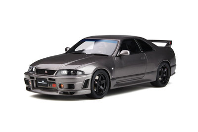 Otto Mobile 1:18 Nissan Skyline GT-R ''Grand Touring Car'' by Omori Factory (BCNR33) Grey