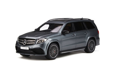 GT Spirit 1:18 MERCEDES-AMG GLS 63 Selenite grey, Lim. 500 pcs
