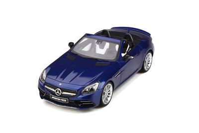 GT Spirit 1:18 MERCEDES-AMG SLC 43 Brilliant blue, lim. 500 pcs