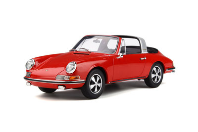 GT Spirit 1:18 PORSCHE 911 TARGA Polo red, lim. 500 pcs