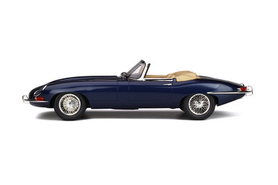 GT Spirit 1:12 JAGUAR E-TYPE ROADSTER Dark blue, lim. 500 pcs