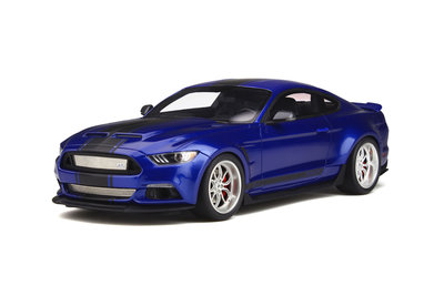GT Spirit 1:18 FORD SHELBY GT-350 ''WIDEBODY'' Deep impact blue, lim 300 pcs