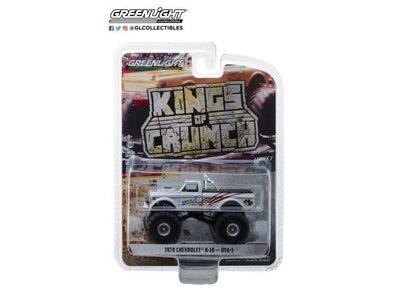 Greenlight 1:64 Chevrolet K 10  USA-1 1970 Kings of Chunch