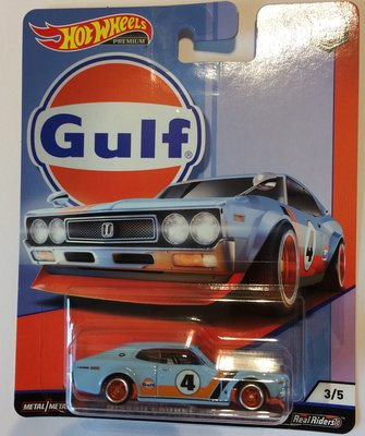 Hotwheels 1:64 Nissan Laurel 2000 SGX no4 Gulf Series