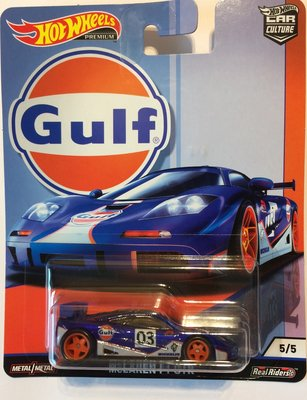 Hotwheels 1:64 Mc Laren F1 GTR no3 Gulf Series