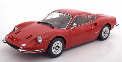 KK Scale 1:12 Ferrari 246 GT Dino 1973 rood oplage 600 stuks
