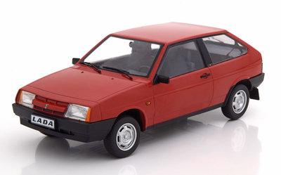 KK Scale 1:18 Lada Samara 1984 rood, oplage 250 stuks