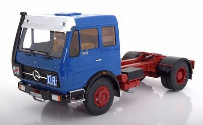 Premium ClassiXXs 1:18 Mercedes NG73 1632 blauw trekker