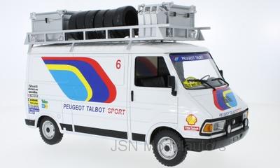 IXO 1:18 Citroen C35 Peugeot Talbot Sport Assistance 1985
