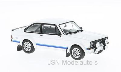 IXO 1:18 Ford Escort MK II RS 1800 wit 1977