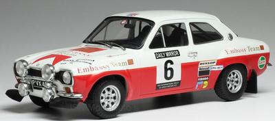 IXO 1:18 Ford Escort MK1 RS 1600 No6 RAC Rallye R.Clark J.Porter 1971