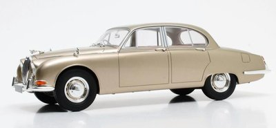 Cult Model 1:18 Jaguar S Type goud metallic 1965