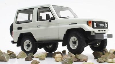 Cult Model 1:18 Toyota Landcruiser BJ70 wit 1984-1989