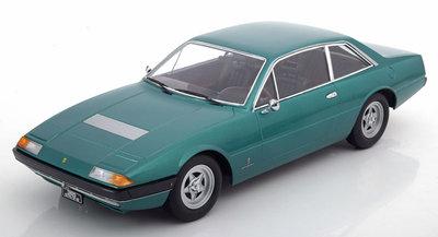 KK Scale 1:18 Ferrari 365 GT4 2+2 1972 groen metallic