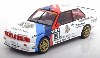 Solido 1:18 BMW M3 E30 DTM Champion no15 Ravaglia 1989