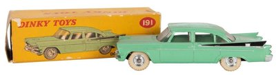 Dinky Toys 1:43 Dodge Royal Sedan lichtgroen Edition Atlas