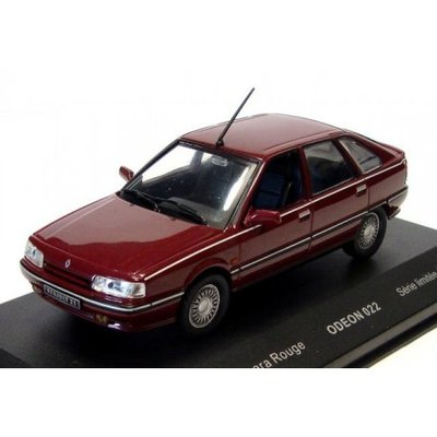Odeon 1:43 Renault R21 Baccara Bordeaux ( product bij IXO )