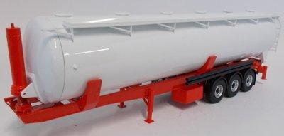 Eligor 1:43 Tankwagen, 3 assen wit