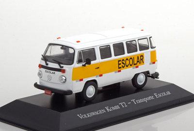 Atlas 1:43 Volkswagen T2 Kombi Escolar Transporter
