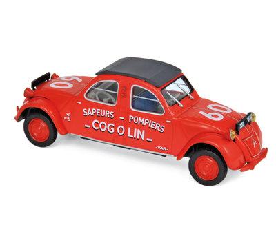 Norev 1:43 Citroen 2CV Cogolin 1961 Pompiers