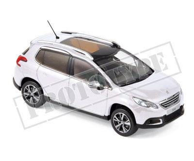 Norev 1:43 Peugeot 2008 2013 wit