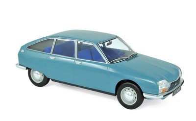 Norev 1:18 Citroen GS Club 1972 Camargue blue