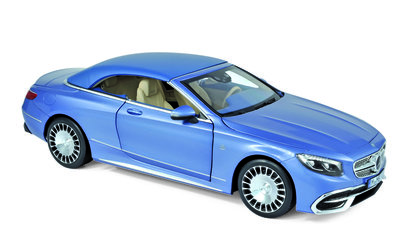 Norev 1:18 Mercedes Maybach S650 Cabriolet 2018 blue metallic