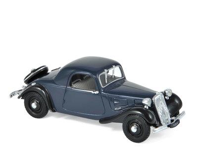 Norev 1:43 Citroën Traction 7C Faux Cabriolet 1937 Dark Blue