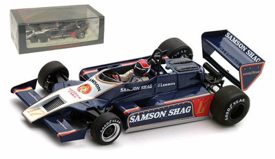Spark 1:43 Shadow DN9 no 17 Jan Lammers Argentinian GP 1979