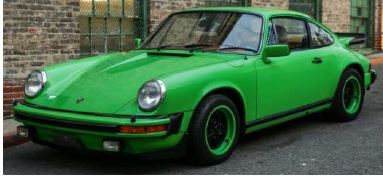 GT Spirit 1:18 PORSCHE 911 S 2.7 TARGA Ascot green