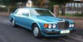 GT Spirit 1:18 BENTLEY TURBO-R LWB Rhapsody blue