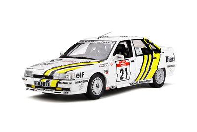 Otto Mobile 1:18 Renault 21 Turbo Gr.N Tour de Corse 1988 no 21 P.Bugalski oplage 2000 stuks