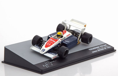 Atlas 1:43 Toleman TG 184 no 19 Ayrton Senna Great Britain GP 1984 F1 Brazil Collection