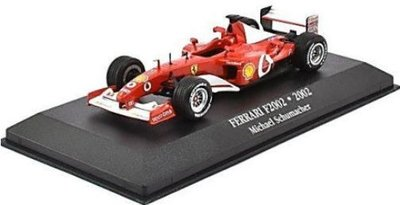 Atlas 1:43 Ferrari F2002 no 1 Michael Schumacher 2002 rood
