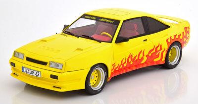 MCG 1:18 Opel Manta B Mattig 1991 geel oranje
