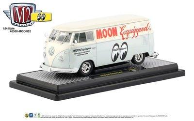 M2 Machines 1:24 Volkswagen Delivery van Mooneyes Equipped